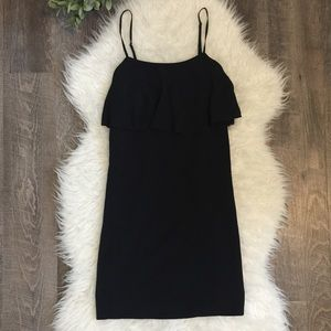 J. Crew little black dress cami straps